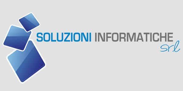 Logo Soluzioni Informatiche 600x300 background